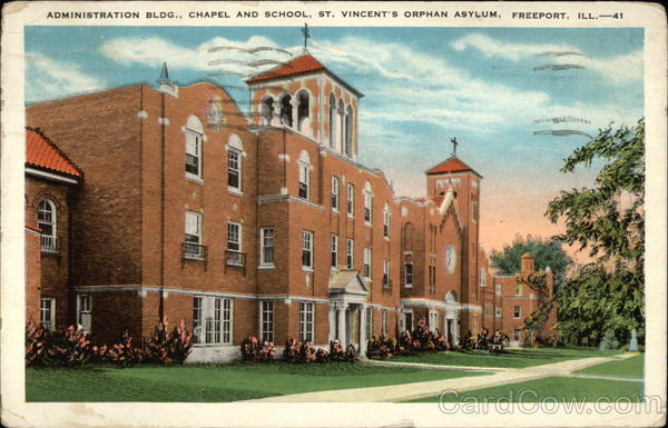 St. Vincent's Orphan Asylum Freeport